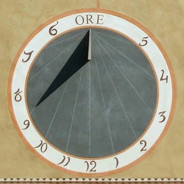 la meridiana orologio solare